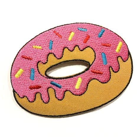 Patchwork Iron - pink frosted donut www pixshark images galleries