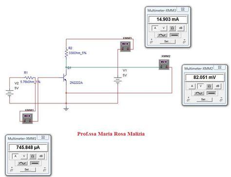 transistor bjt esercizi transistor