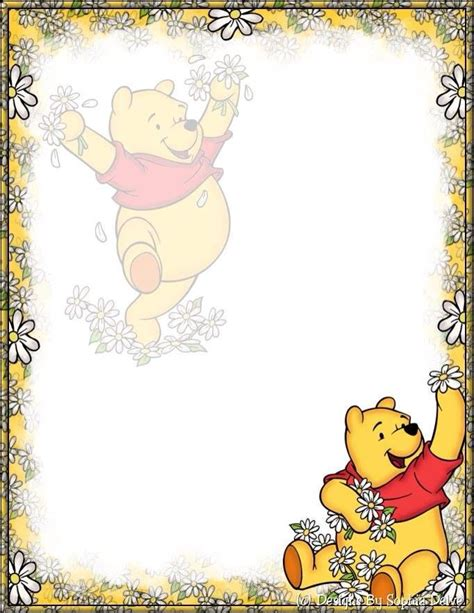 winnie the pooh writing paper 2224 best baby images on baby cards