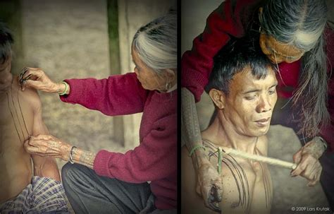 modern tattoo process the last kalinga tattoo artist of the philippines lars