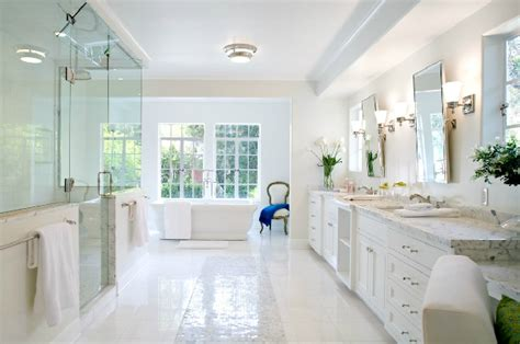 White Master Bathroom Ideas by Master Bathroom Ideas Transitional Bathroom