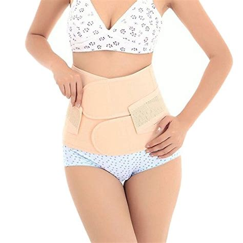 Benefits Of Abdominal Binder After C Section by Trendyline Postpartum Girdle Corset Recovery Belly