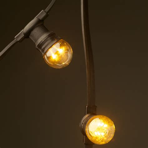 Light Light by Low Voltage G45 Led Festoon Kit 50cm Intervals