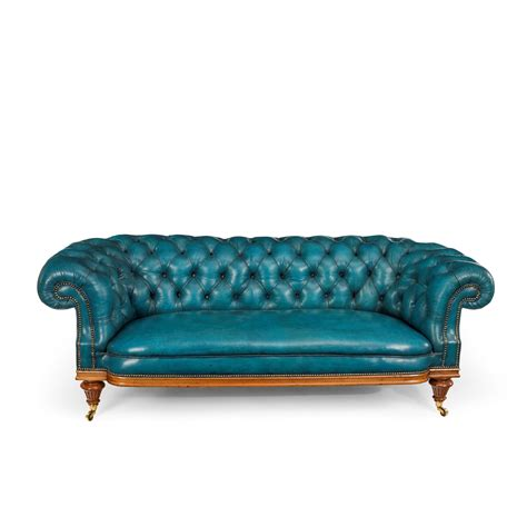 antique chesterfield sofa c 1890 from wick