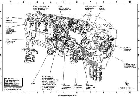 2000 ford explorer parts diagram i 2000 ford explorer automatic temp all i