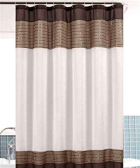 taupe shower curtain taupe sequin bahamas shower curtain