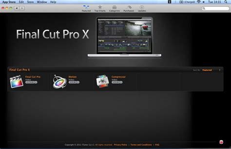 final cut pro app apple releases final cut pro x now available from mac app