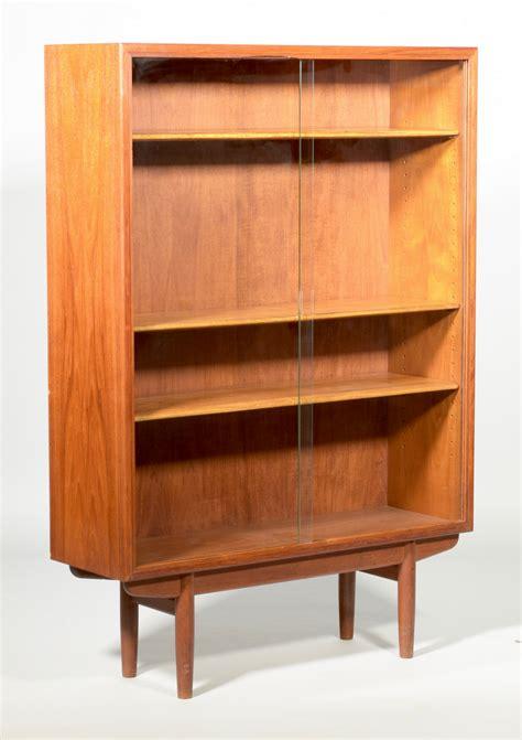 lot 492 mid century modern bookcase attr arne vodder