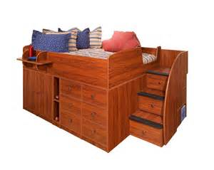 berg furniture captain s bed with drawers cabinet