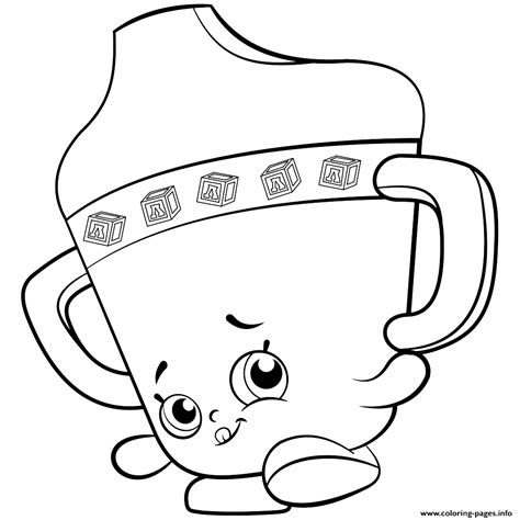 coloring pages of baby shopkins baby sippy sips shopkins season 2 coloring pages printable