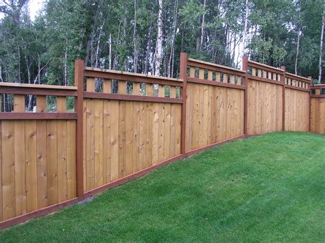 Most Popular House Plans by Cedar Board Fence Aaa Fence Inc