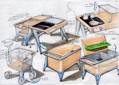 kitchen layout for elderly electrolux kitchen for the silver generation by chua kai