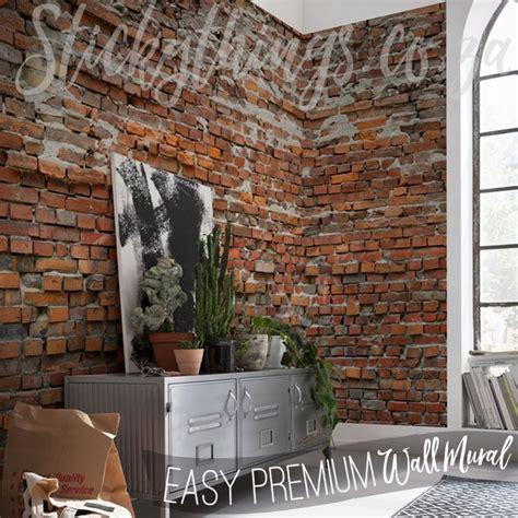 brick wall murals rustic brick wall mural premium brick mural