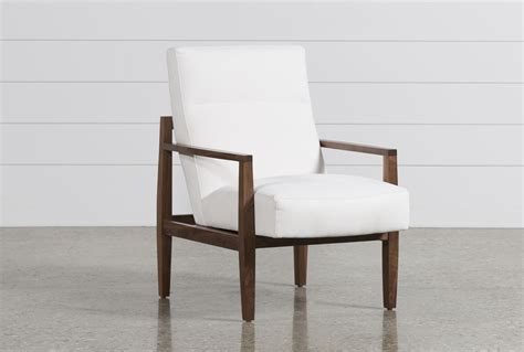 Living Spaces Accent Chairs Russo Wood Accent Chair Living Spaces
