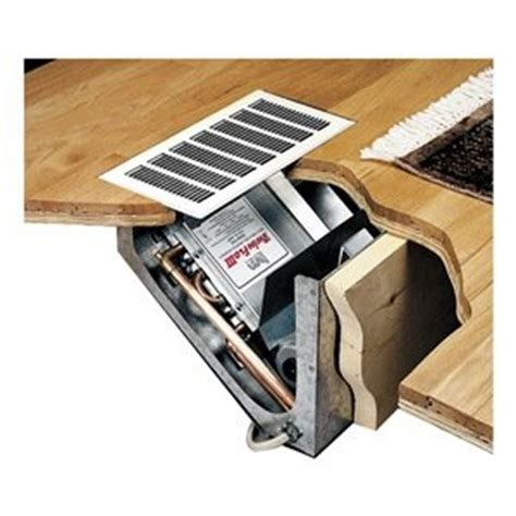 hydronic heater wall cabinet hydronic heater in floor cabinet recess kickspace