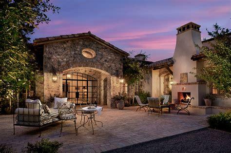 French Country Estates French Country Estate Mediterranean Patio Phoenix