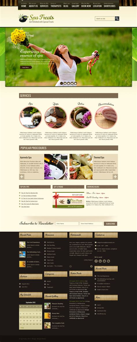 Healthy Home Spa spa treats spa health resort woocommerce theme by