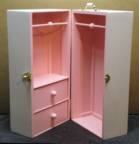 doll armoire for 18 inch dolls 18 inch doll trunk plans pictures to pin on pinterest