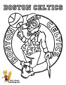 Robust Basketball Coloring Sheets  NBA Free Boys sketch template