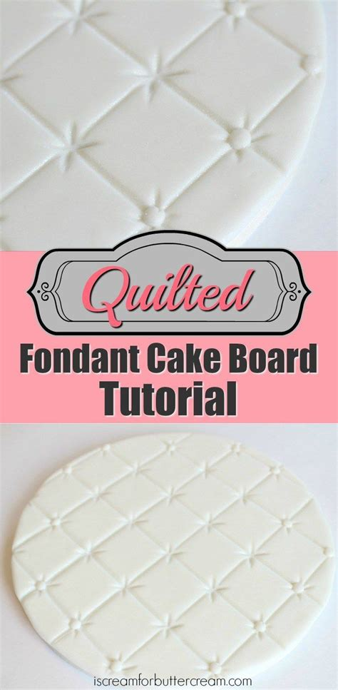 quilting fondant tutorial 25 best quilted cake tutorial ideas on pinterest