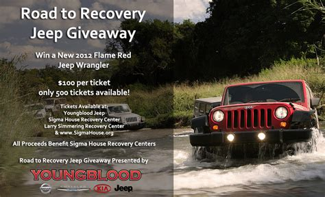 Today Show Jeep Giveaways - road to recovery jeep giveaway