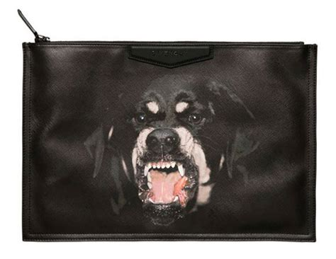 rottweiler givenchy clutch the fashion bomb fashion fashion news what to wear runway show