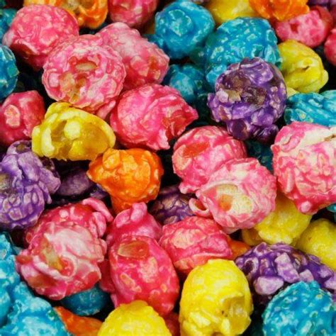 color popcorn rainbow popcorn fruit flavored popcorn treat recipe