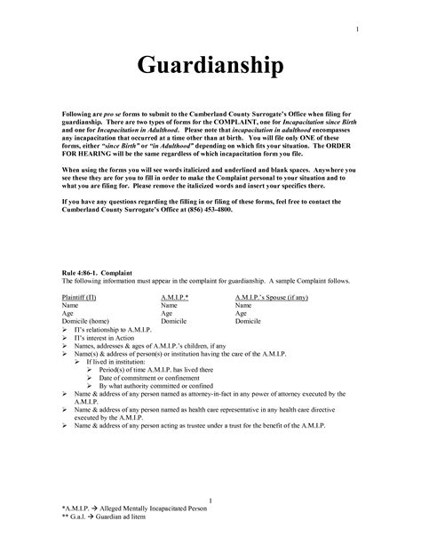 Pin Notarized Affidavit Of Guardianship On Pinterest Temporary Custody Affidavit Template