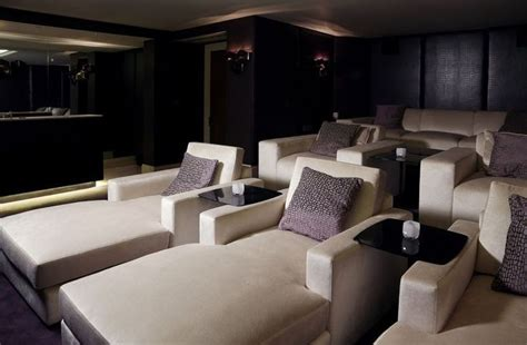 media room chaise lounges 16 best images about home theater guest room on