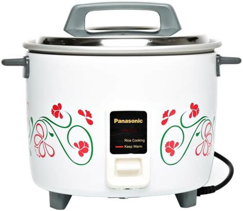 Rice Cooker Gas 5 Liter panasonic 1 8 liter automatic rice cooker white srw18g