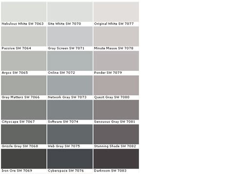 sherwin williams paint colors online sherwin williams rock bottom sw 7062 cityscape sw 7067