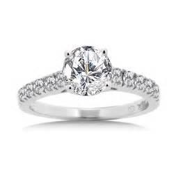 walmart gold wedding rings cut cubic zirconia ring in white gold walmart