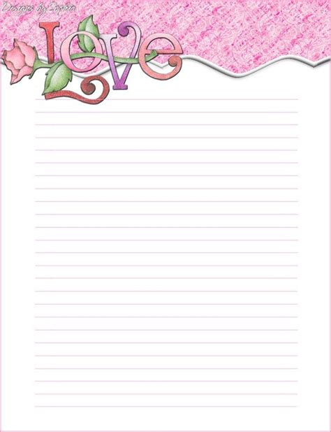 printable stationary 105 best images about valentines stationery on pinterest
