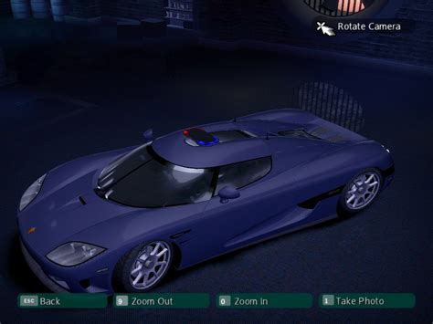 koenigsegg ccxr carbon need for speed carbon koenigsegg ccxr police nfscars