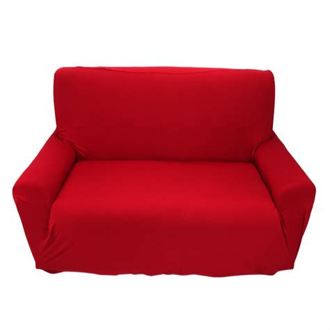 couch slips elastic protector slipcover solid plain colour 2 seat