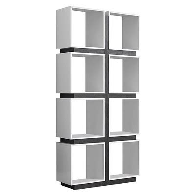 Hollow Core Bookcase White Gray Everyroom Target Target Bookcase White
