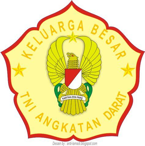 gambar logo stiker tni angkatan darat indonesia logo
