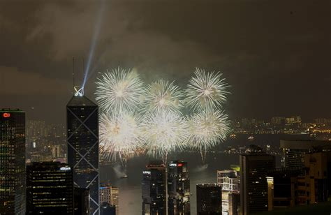 new year hong kong fireworks lunar new year fireworks display in hong kong