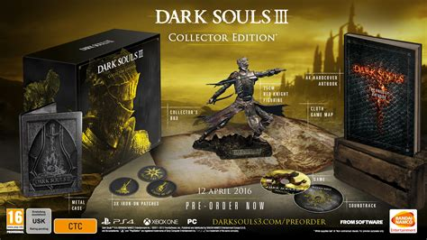 Souls 1 2 Limited Edtion Artbook souls 3 pre order editions are a different in uk vg247