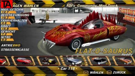 Flat Out flatout 2 mit mods carpack 4 pc hd