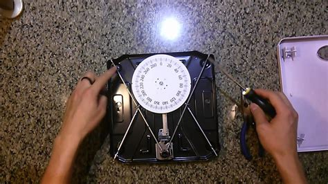 best analog bathroom scale how to fix an analog dial bathroom scale doovi