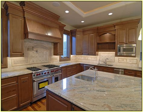kitchen cabinets with light granite countertops light granite countertops with light cabinets home