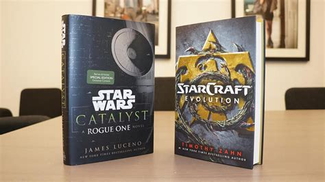 libro star wars catalyst a catalyst a rogue one novel and starcraft evolution book giveaway polygon