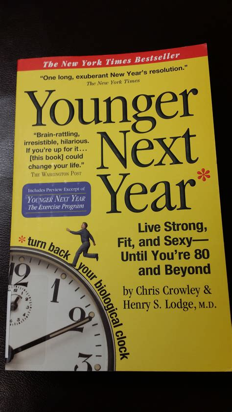 Younger Next Year younger next year book report by mississauga chiropractor