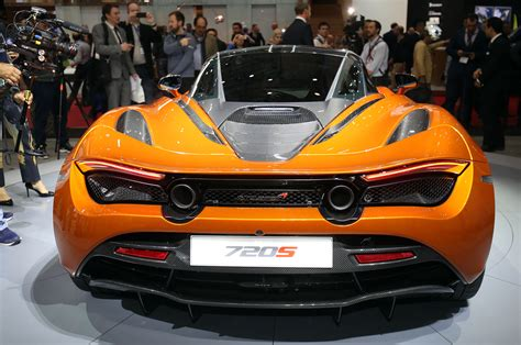 mclaren 720s 2018 mclaren 720s first look recalibrating the supercar