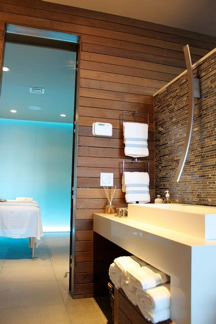 Bathroom Powder Room Ideas spa design massage room modern bathroom new york