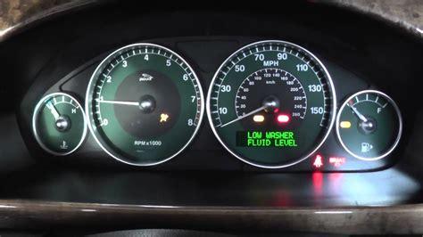 x warning light jaguar x type speedo engine lights on start up