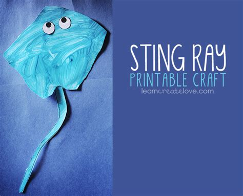 Sting Paper Crafts - printable sting craft