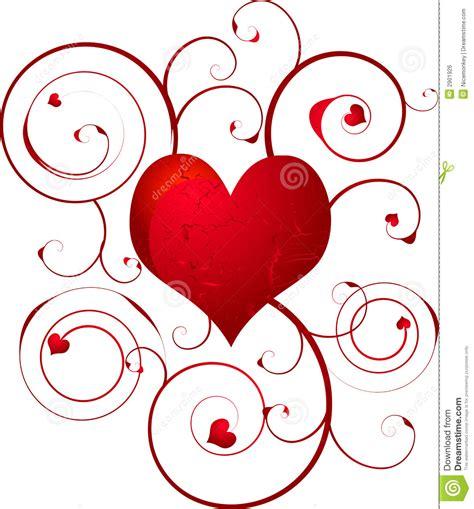 imagenes de corazones lastimados x amor remolino del coraz 243 n del amor ilustraci 243 n del vector