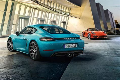 porsche india porsche 718 cayman and boxster launched in india news18